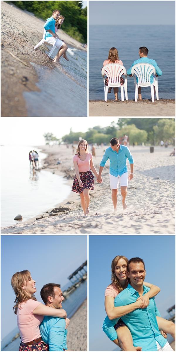 Toronto Center Island Engagement Photography