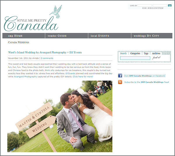 Avangard Photography on SMP Canada Blog