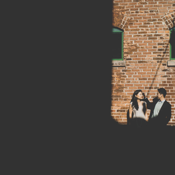 Distillery District Engagement Pictures | Toronto