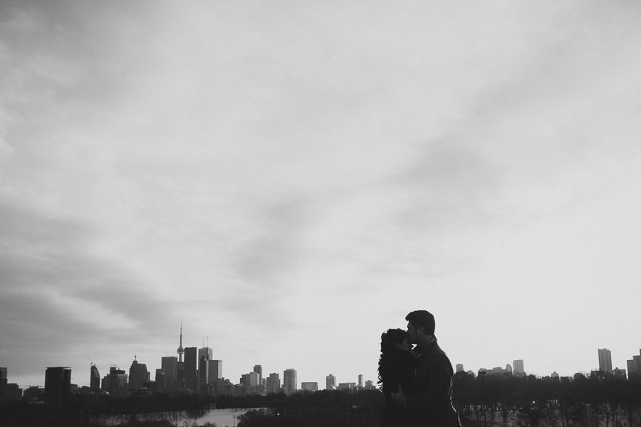 Indoor + Outdoor Engagement Photoshoot | Danforth, Toronto