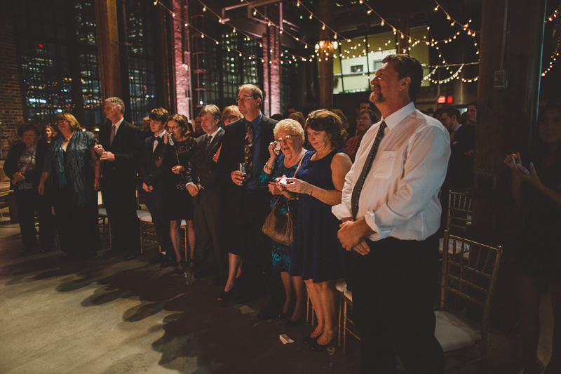Steam Whistle Wedding Picture