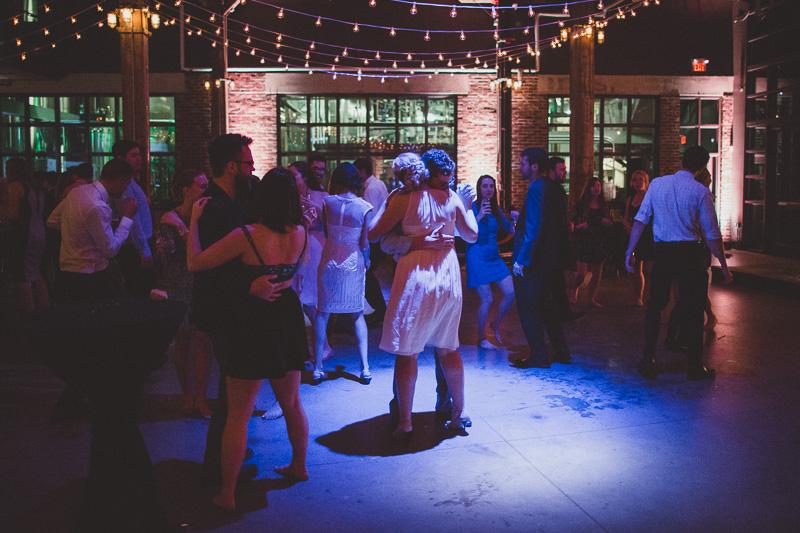 Steam Whistle Wedding Photo