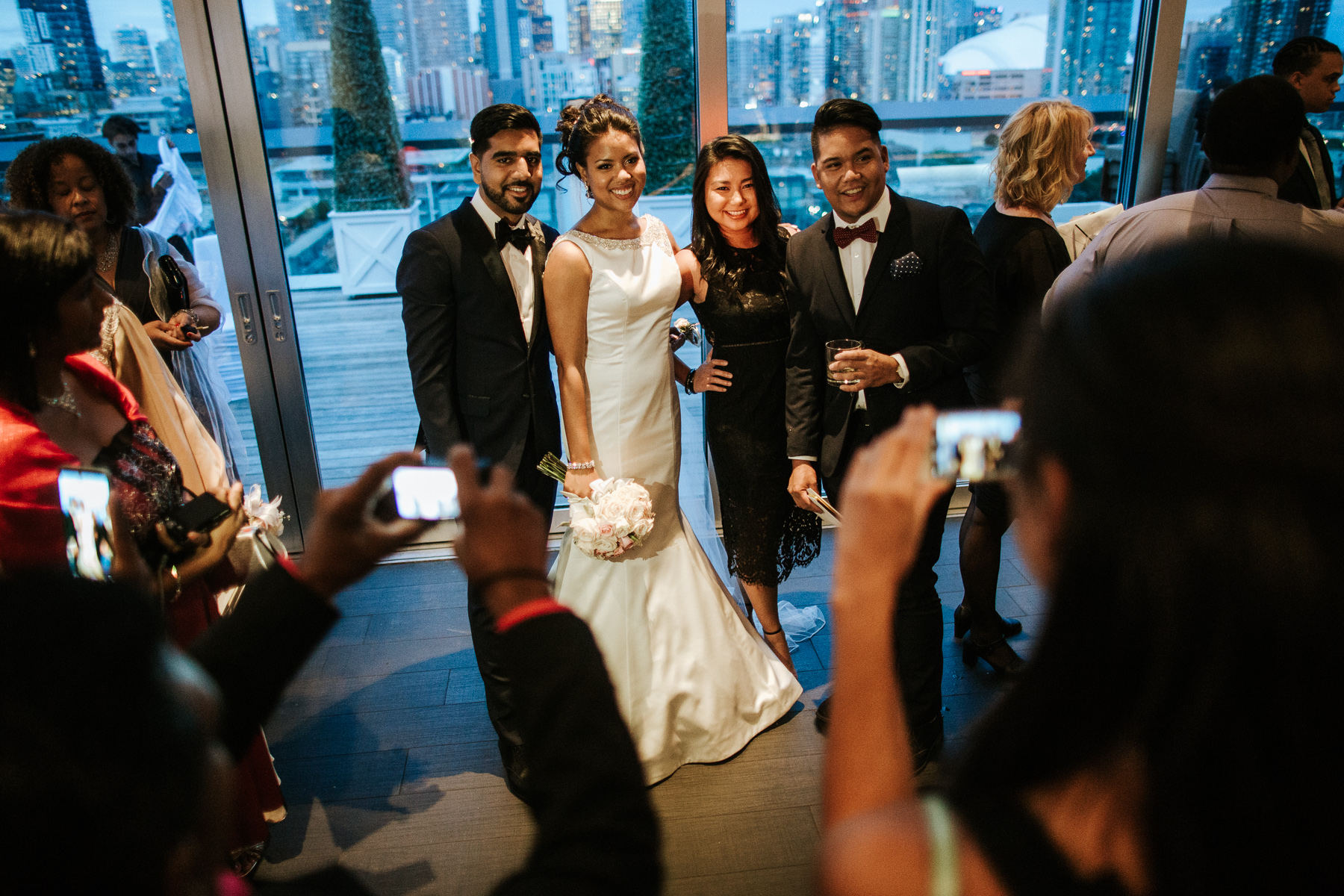 Thompson Hotel Toronto Wedding Picture