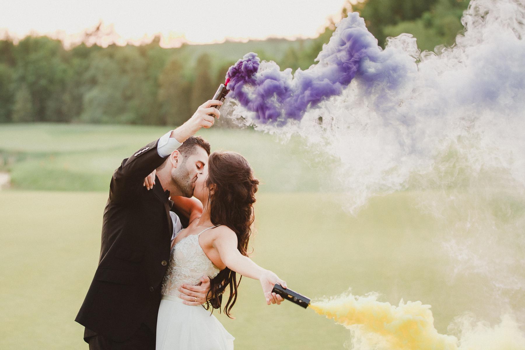 Eagles Nest Golf Club Wedding Photos by Top Toronto Wedding Photographer