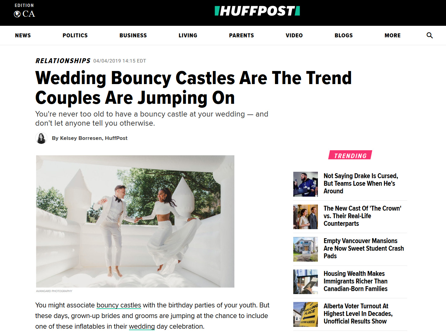 Wedding Bouncy Castles Are The Trend Couples Are Jumping On