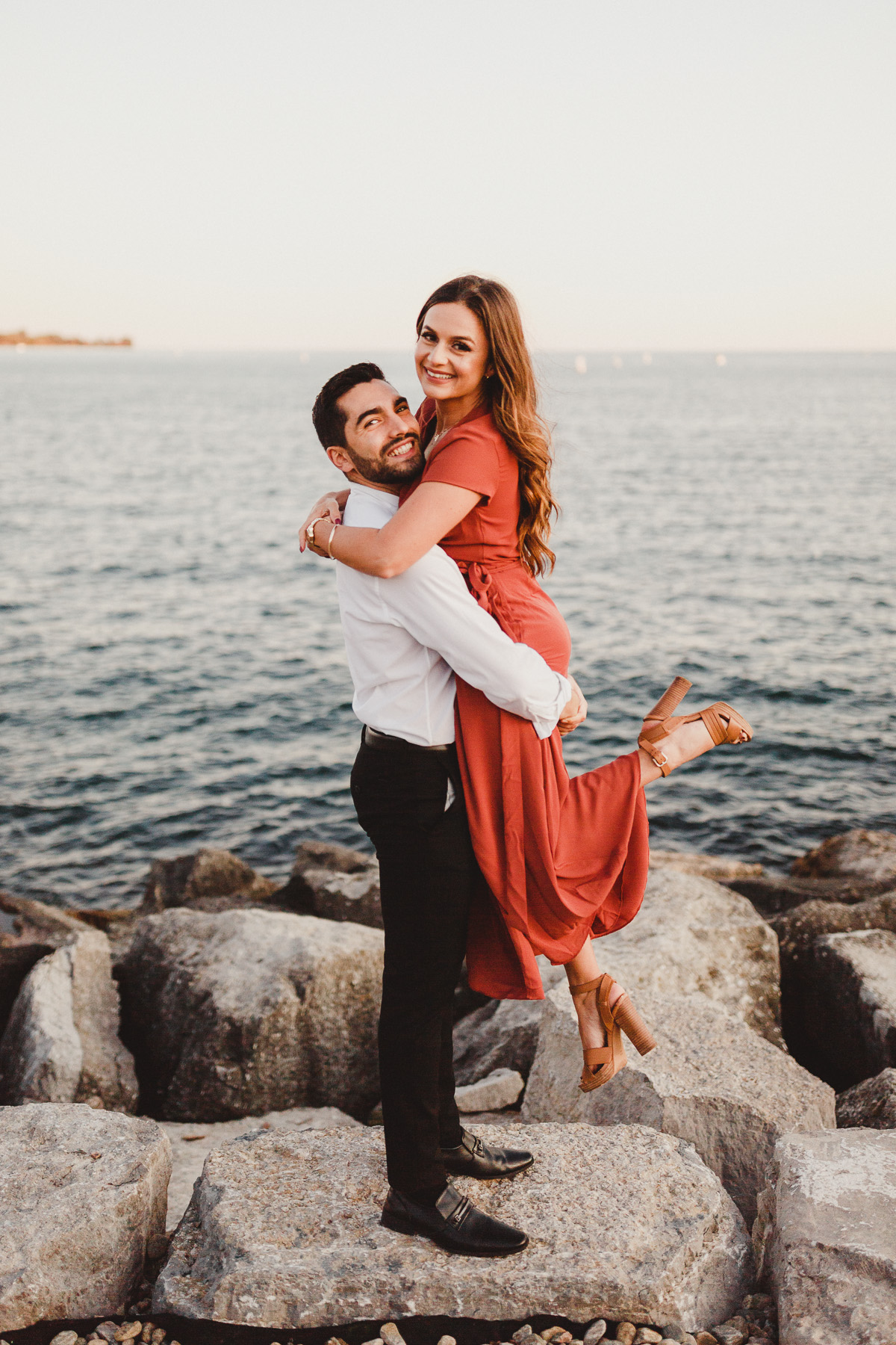 Trillium Park Toronto Engagement Photography by Top Toronto Wedding Photographer Avangard Photography