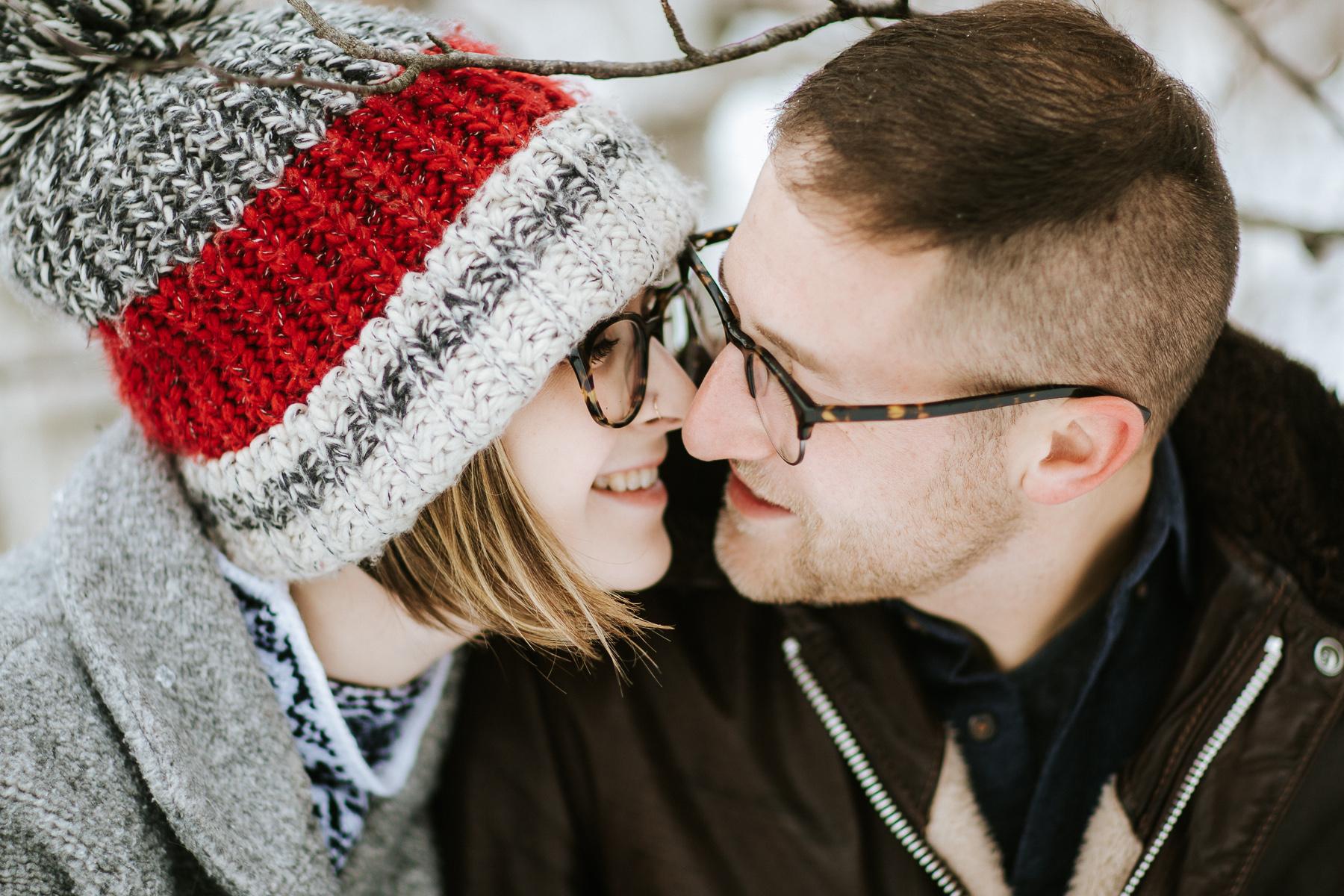 Fun-loving Couple Go For Winter Engagement Photoshoot 1 Avangard Photography Toronto Wedding Photographer