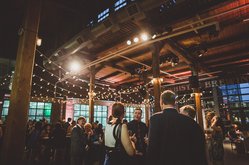 Steam Whistle Brewery Wedding Photo