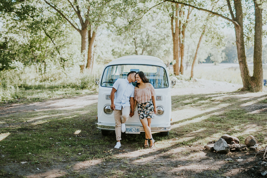 Cherry Beach Engagement Pictures by Toronto Wedding Photographer