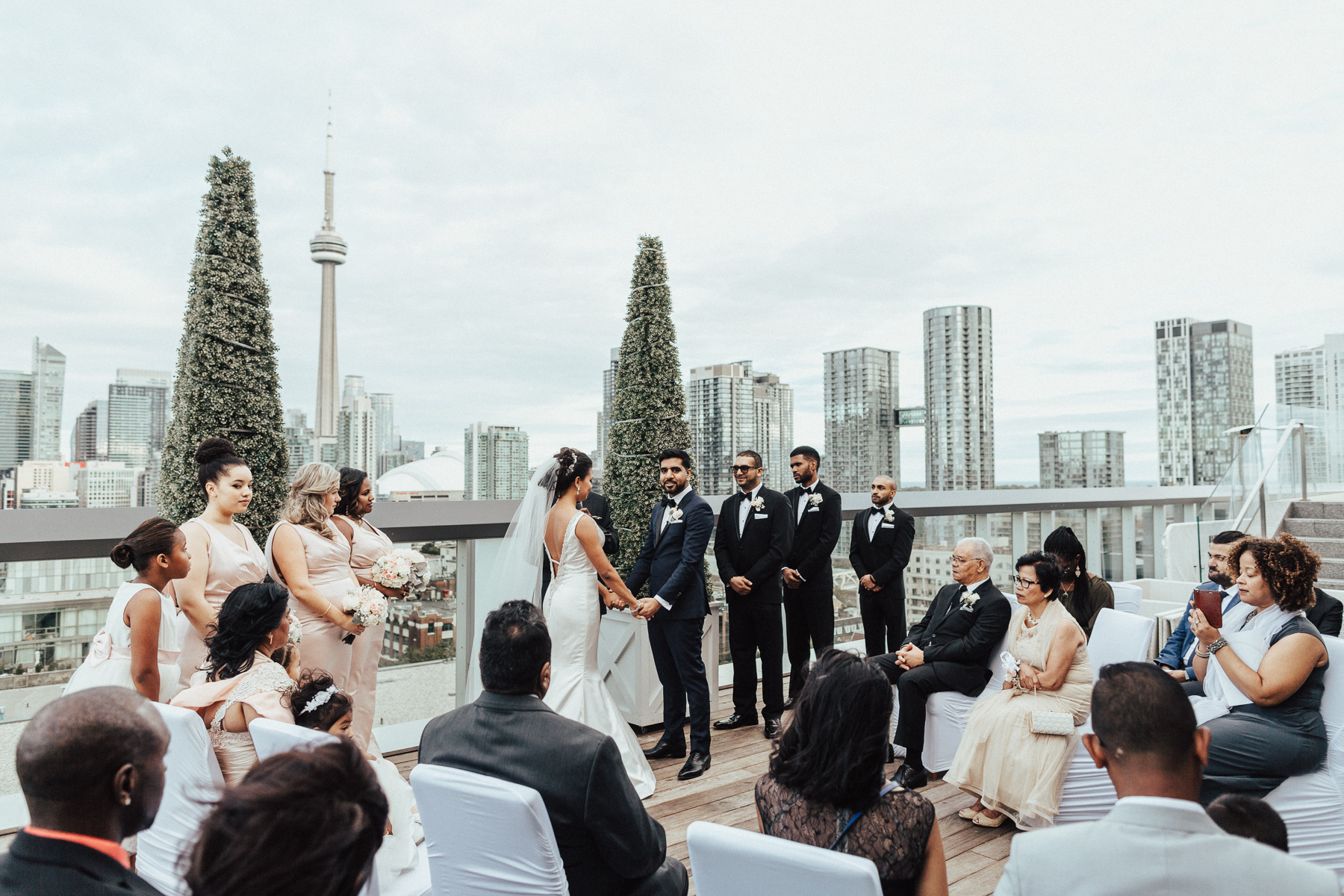 Thompson Hotel Toronto Wedding Pictures