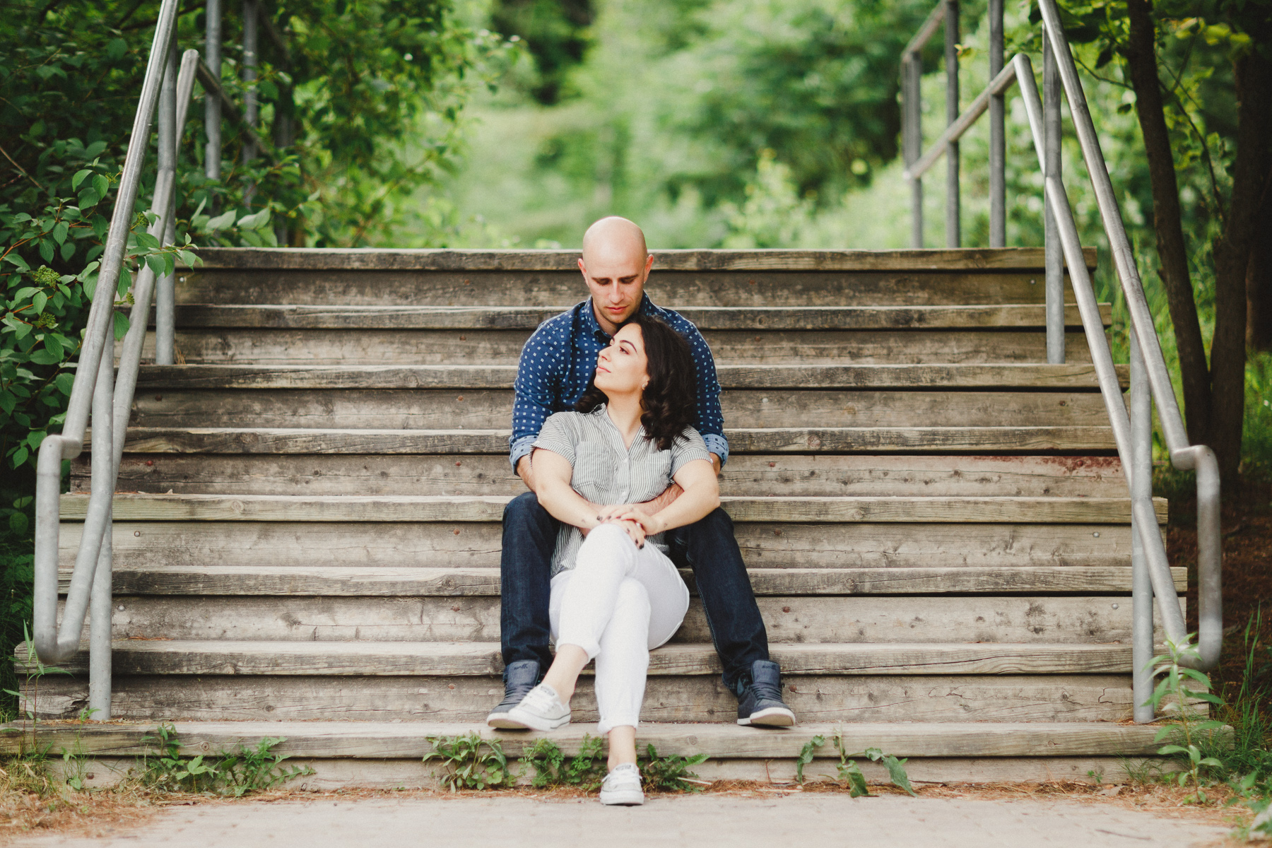 Evergreen Brick Works Engagement Pictures by Toronto Wedding Photographer