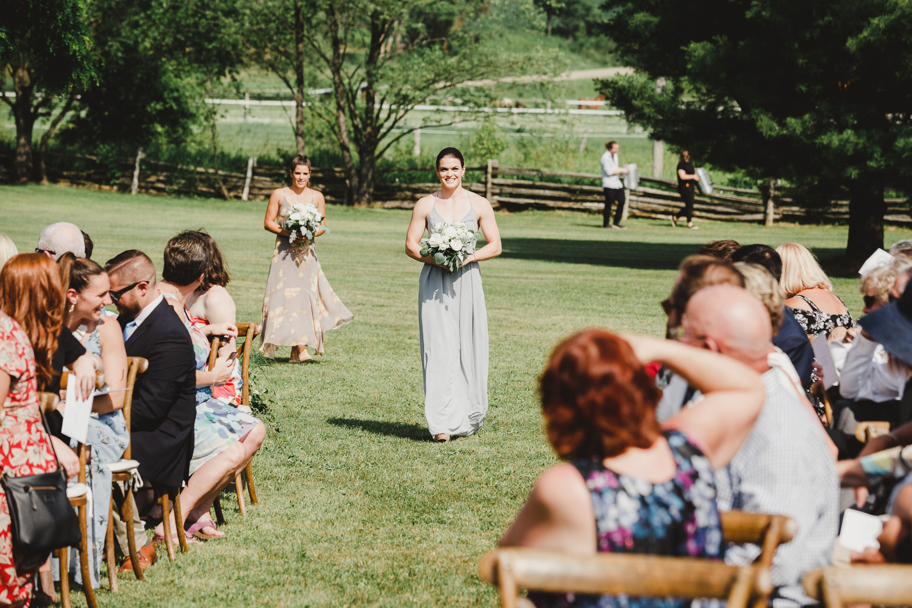 Epic Garden Party Wedding of Hockey Legends Pictures